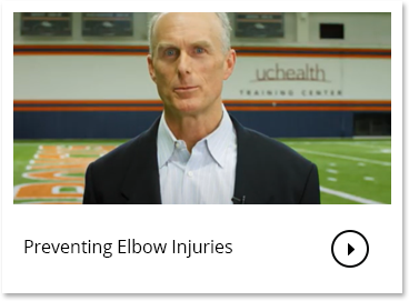 Preventing Elbow Injuries | Thomas Noonan MD, Orthopedic Surgeon | UCHealth